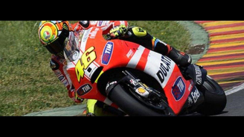 Moto - News: MotoGP 2012: 80 giri del Mugello per Rossi sulla GP12