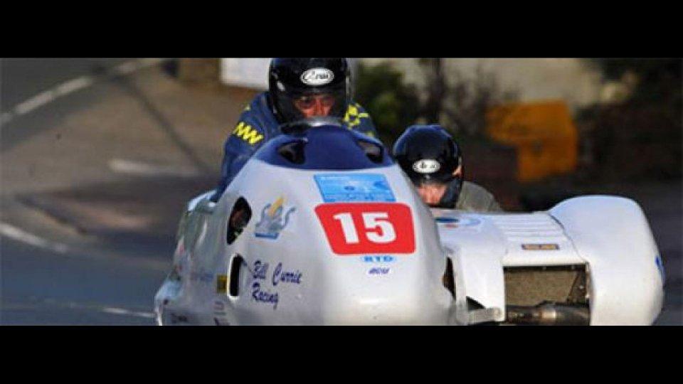 Moto - News: Tourist Trophy 2011, sidecar: arrivano brutte notizie