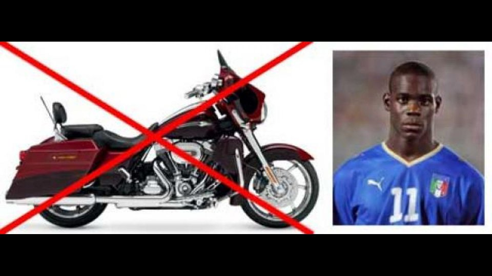 Moto - News: Balotelli e una moto da non demonizzare