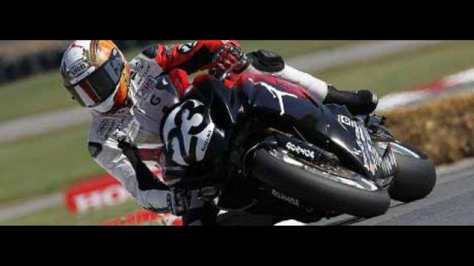 Moto - News: MotoGP 2011 Laguna Seca: Ben Bostrom al via