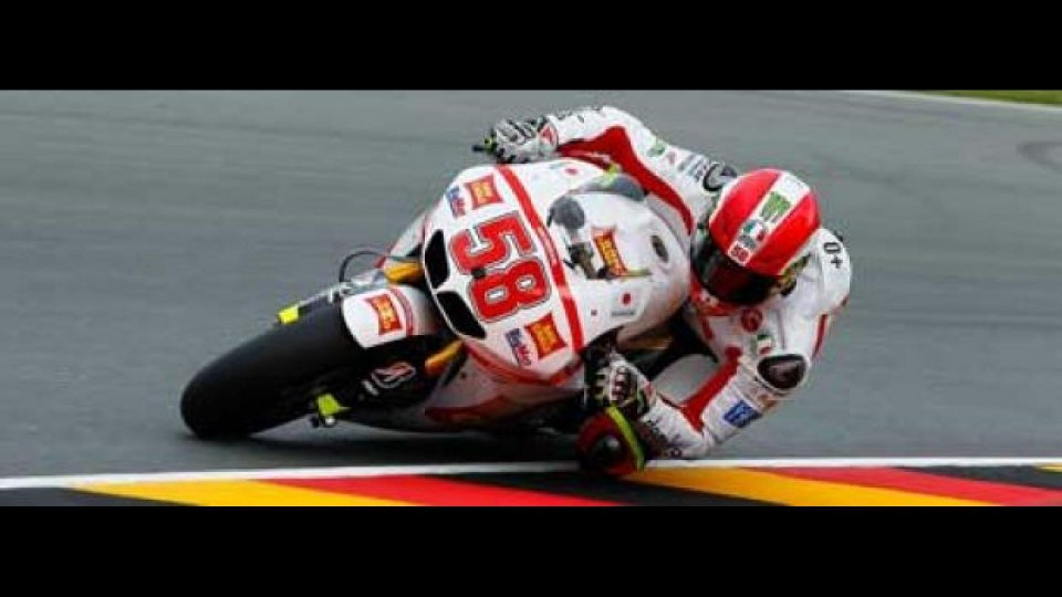 Moto - News: MotoGP 2011 Sachsenring FP1: Simoncelli davanti
