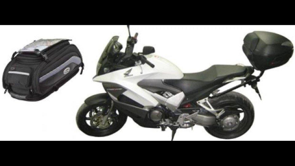 Moto - News: Shad: accessori da viaggio per Honda Crossrunner