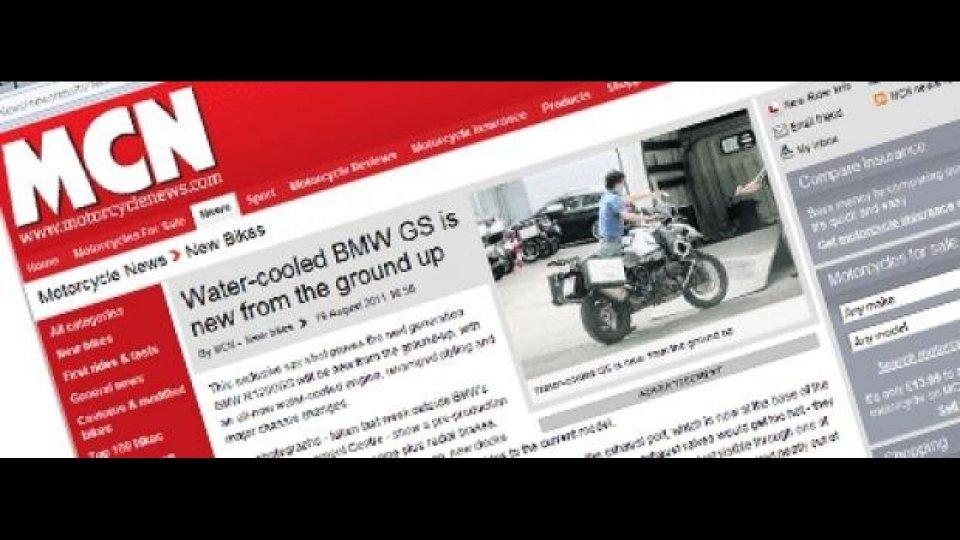 Moto - News: Nuova BMW R1200GS: foto spia della versione raffreddata a liquido