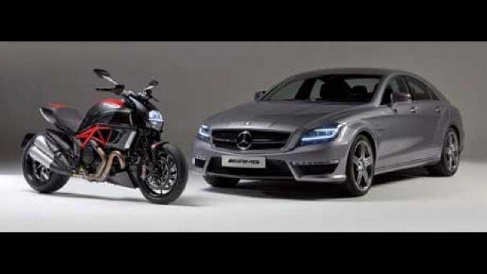Moto - News: Ducati potrebbe andare sul mercato. Mercedes comprerà?
