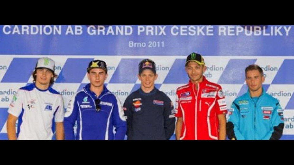 Moto - News: MotoGP 2011: conferenza stampa a Brno