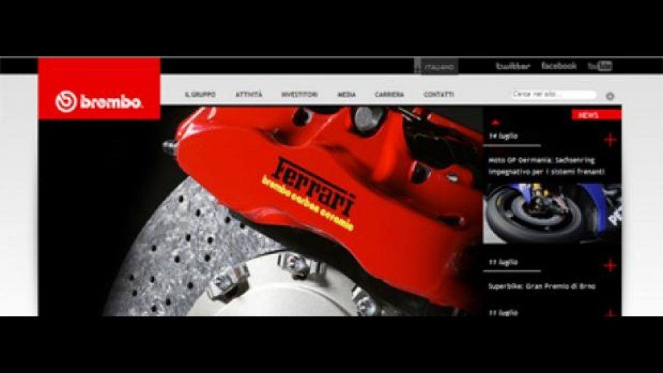 Moto - News: Nuovo sito Brembo