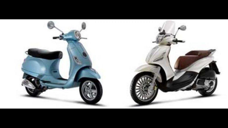 Moto - News: Piaggio: promozione scooter agosto 2011