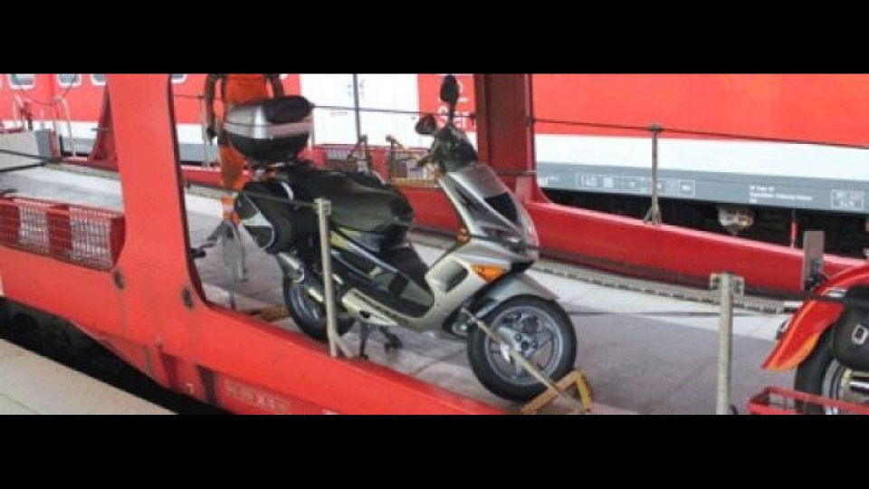 Moto - News: Rogo Tiburtina: stop a treni con moto ed auto al seguito