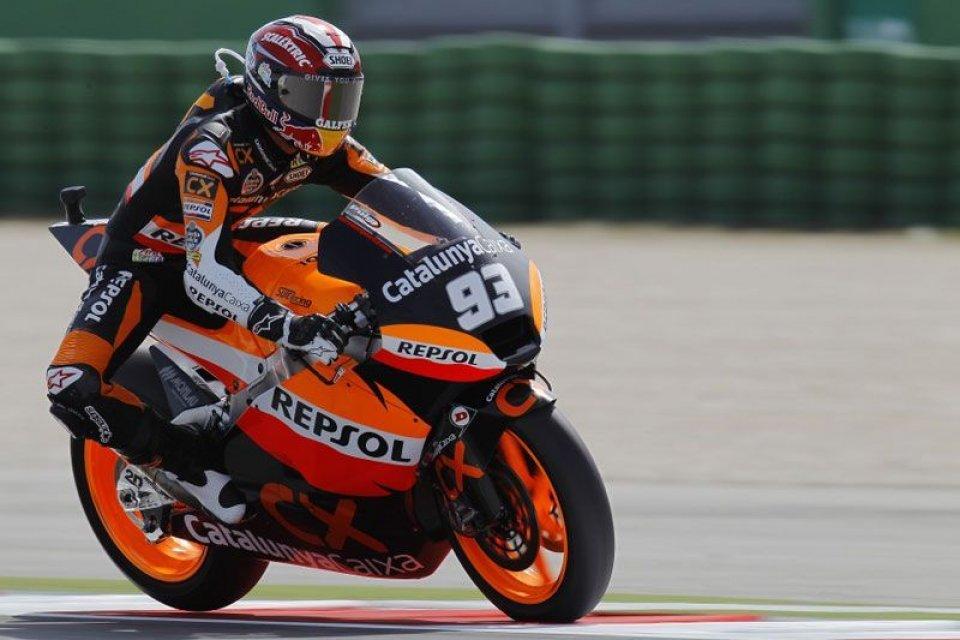MotoGP: Marquez, debutto in MotoGP a Valencia