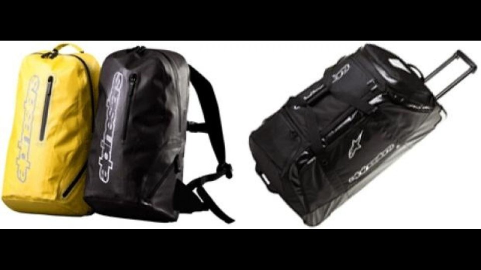 Moto - News: Alpinestars 2012: Slipstream Pack e Transition Bag XL