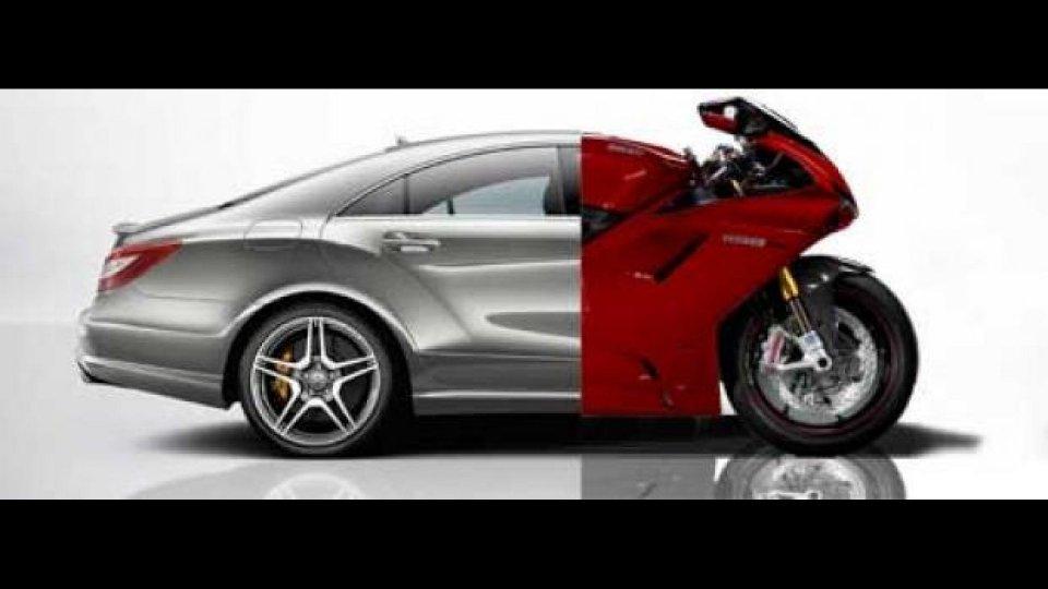 Moto - News: Ducati-Mercedes: e se arrivasse una moto?