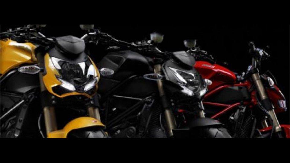 Moto - News: Ducati Streetfighter 848: costa 12.592 euro