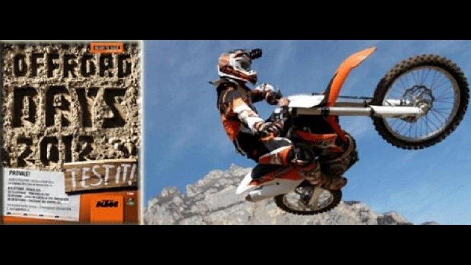 Moto - News: KTM Offroad Test Days 2011