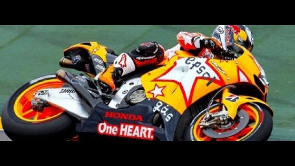 Moto - News: MotoGP 2011, Aragòn: vittoria di Stoner