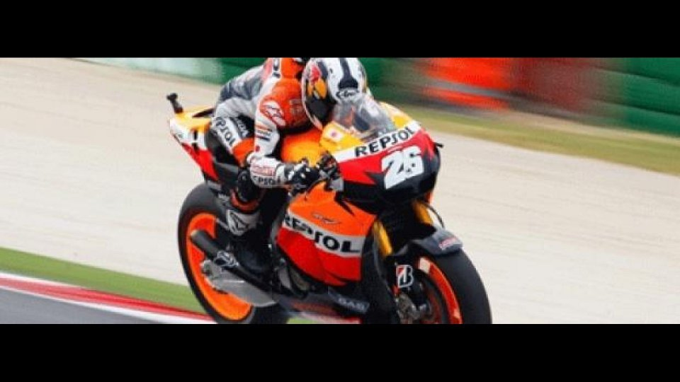 Moto - News: MotoGP 2011: Aragòn, Libere 1, Pedrosa è il più veloce di mezzo secondo