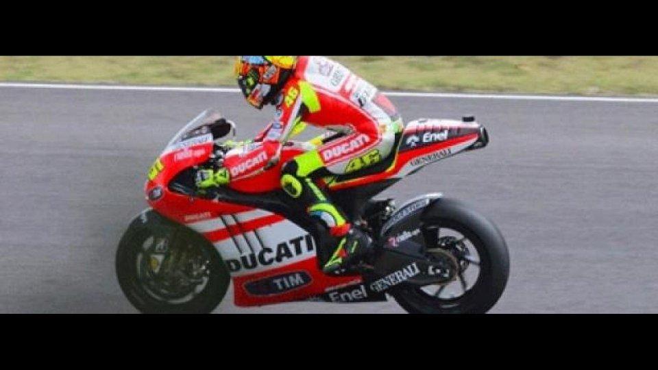 """Moto - News: MotoGP 2012: Rossi e la GP12: """"Abbiamo raccolto informazioni utili"""""""