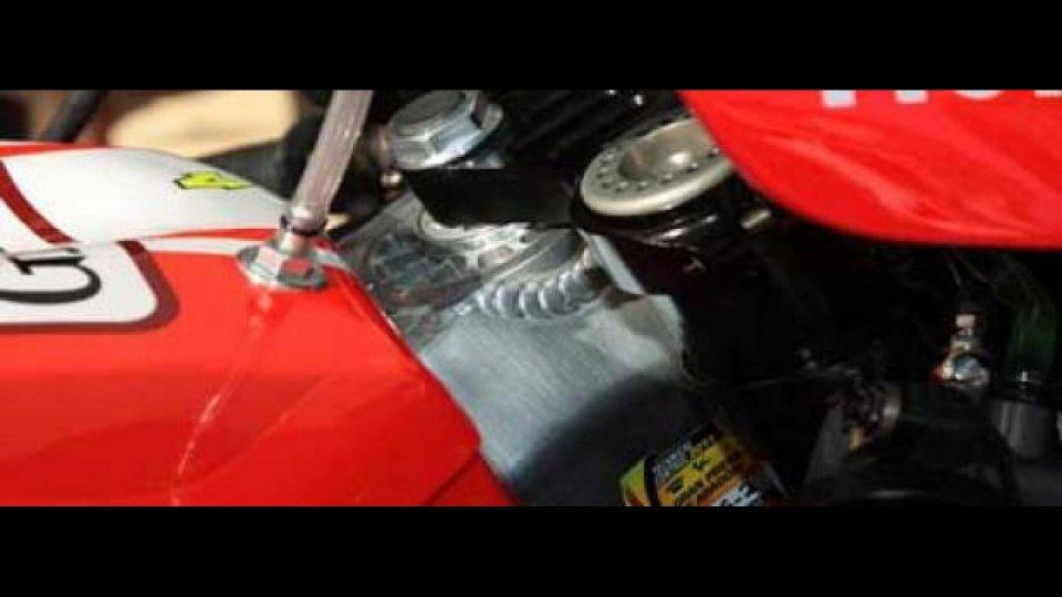 Moto - News: MotoGP: Test Ducati a Jerez. Che telaio proverà Valentino?