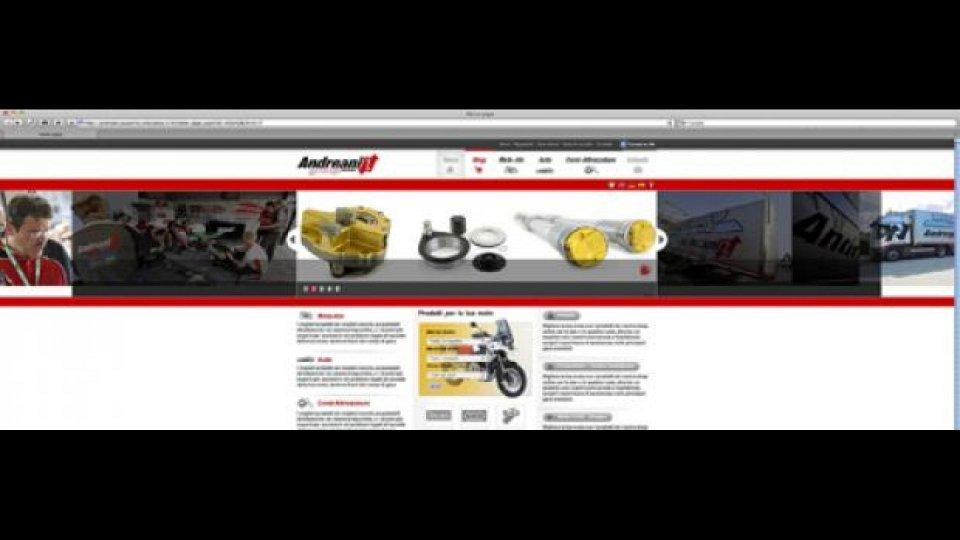 Moto - News: Rinnovato il sito web Andreani Group