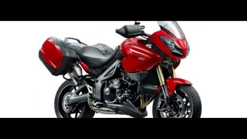 Moto - News: Nuova Triumph Tiger 1050 MY2012