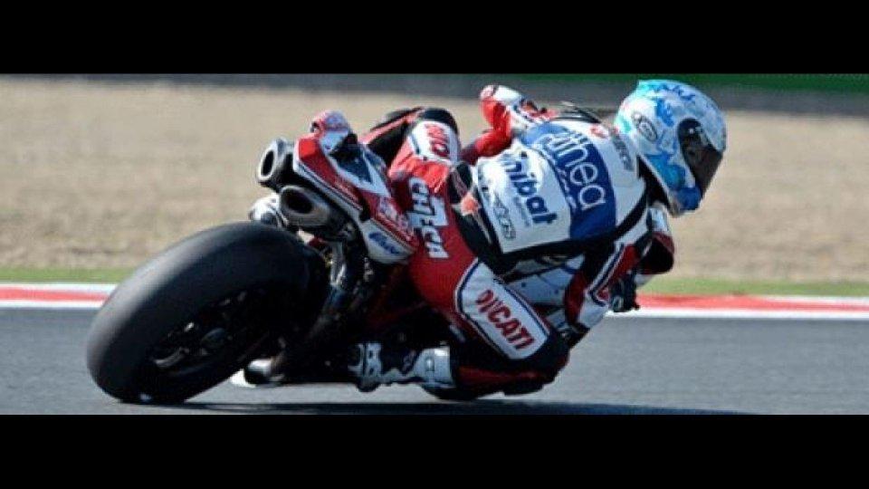 Moto - News: WSBK 2011: Qualifiche 1, ancora Checa in vetta