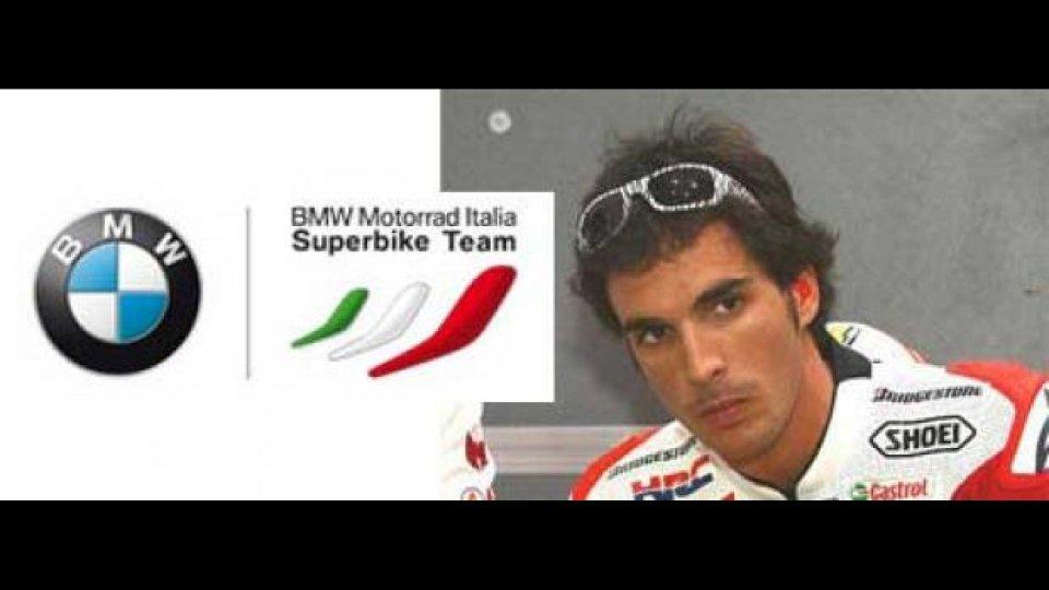 Moto - News: WSBK 2011: Toni Elias prova la BMW S1000 RR SBK