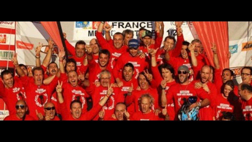 Moto - News: Husqvarna 2011: Salminen è Campione del Mondo E1