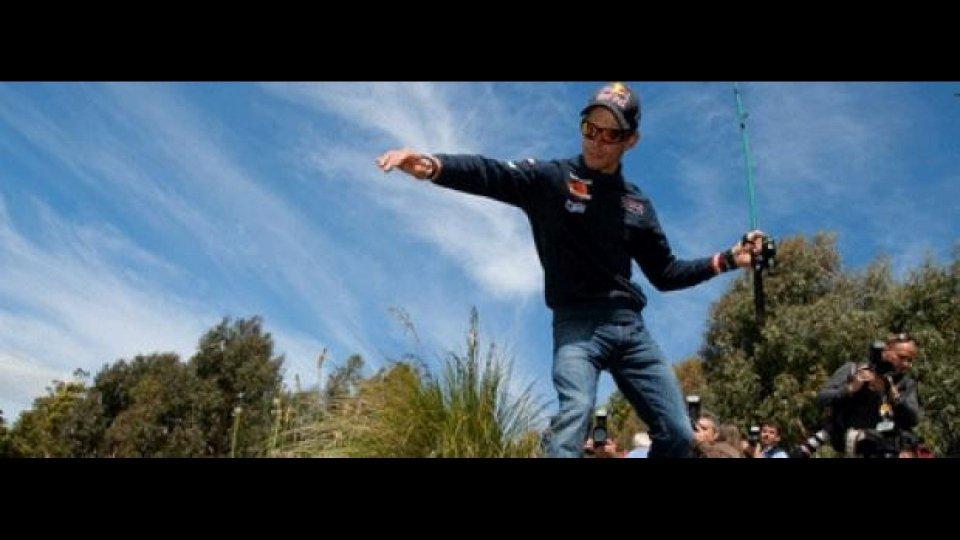 Moto - News: MotoGP 2011: Stoner, Edwards e Spies... a pesca!