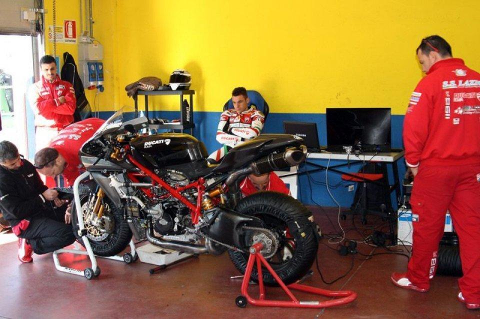 Moto - News: SBK: Canepa prova a Vallelunga