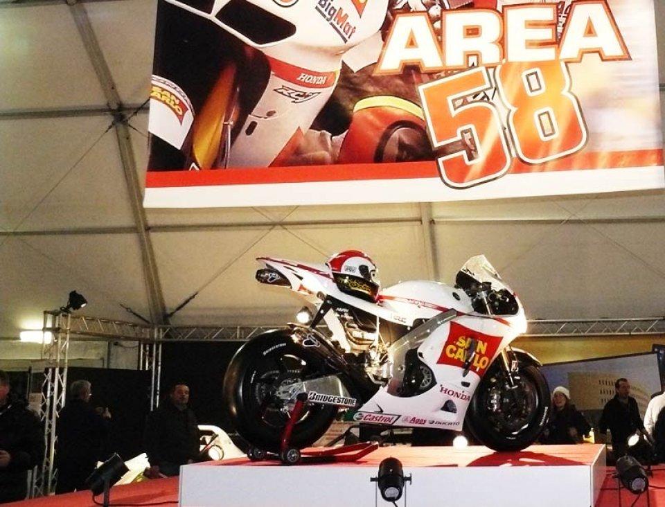 Moto - News: Area 58: Monza omaggia Simoncelli