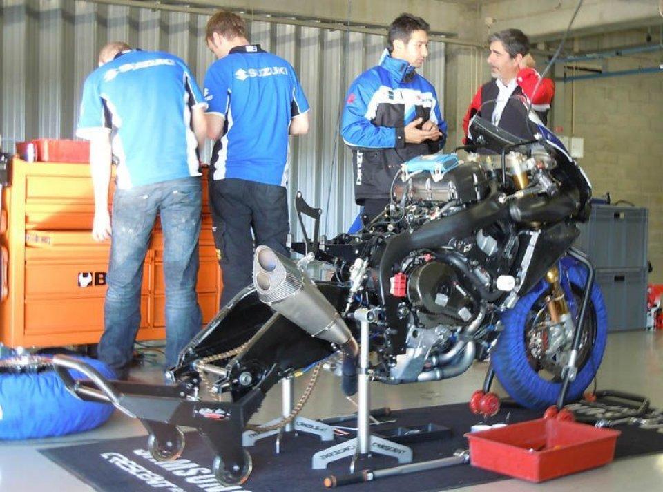 Moto - News: SBK: Non spaventa la Suzuki inglese