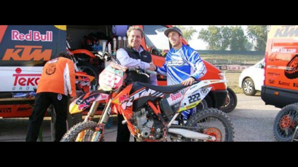 Moto - News: MX 2012: Antonio Cairoli prova a Mantova la moto 2012