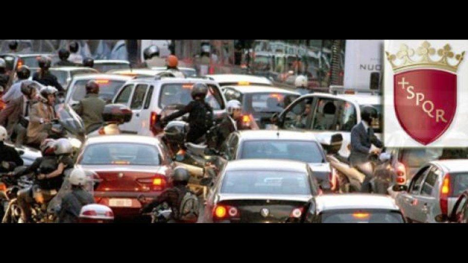 Moto - News: Roma: blocco del traffico 29 novembre