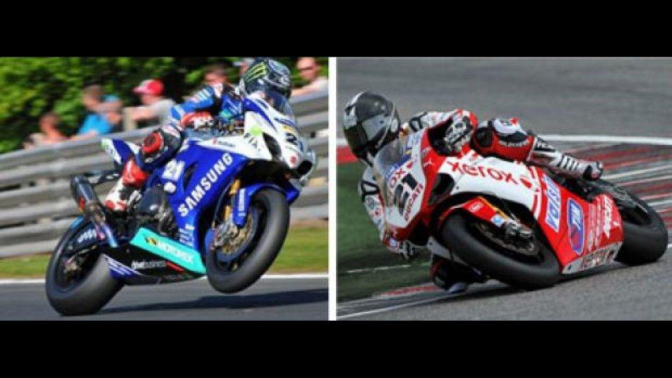 Moto - News: WSBK 2012: Bayliss lascia il numero 21 a Hopkins
