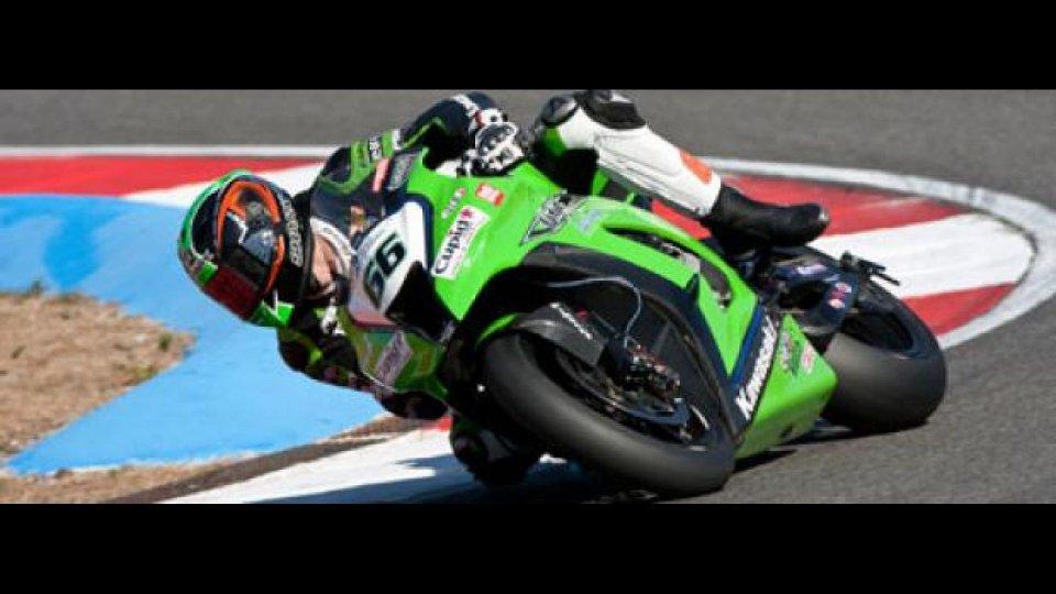 Moto - News: WSBK 2012: Tom Sykes resta con Kawasaki