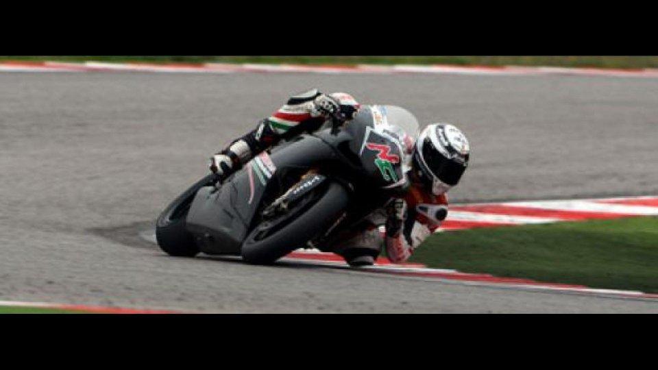 Moto - News: WSBK: è già 2012 per il Team Ducati Roma e Niccolò Canepa