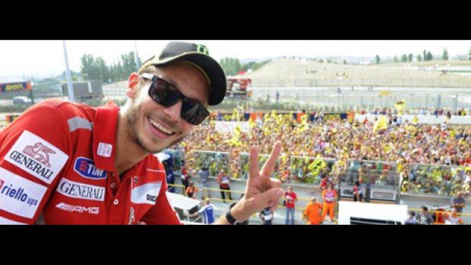 Moto - News: Dainese: Valentino Rossi live su Dainese.com