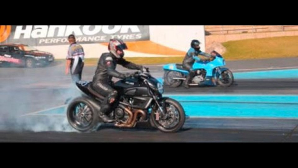 Moto - News: Ducati Diavel Drag Racing in Australia