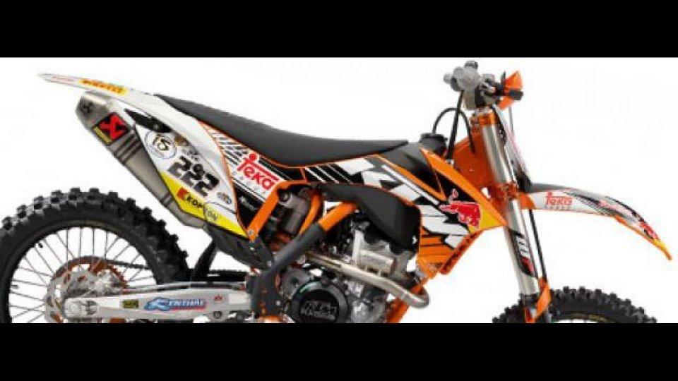 "Moto - News: KTM 2012: pronte le MX Factory Edition ""Cairoli e Roczen"" replica"