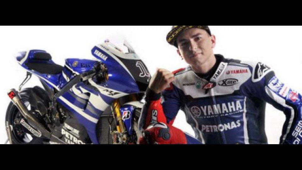 Moto - News: MotoGP: Yamaha vuole il rinnovo con Lorenzo
