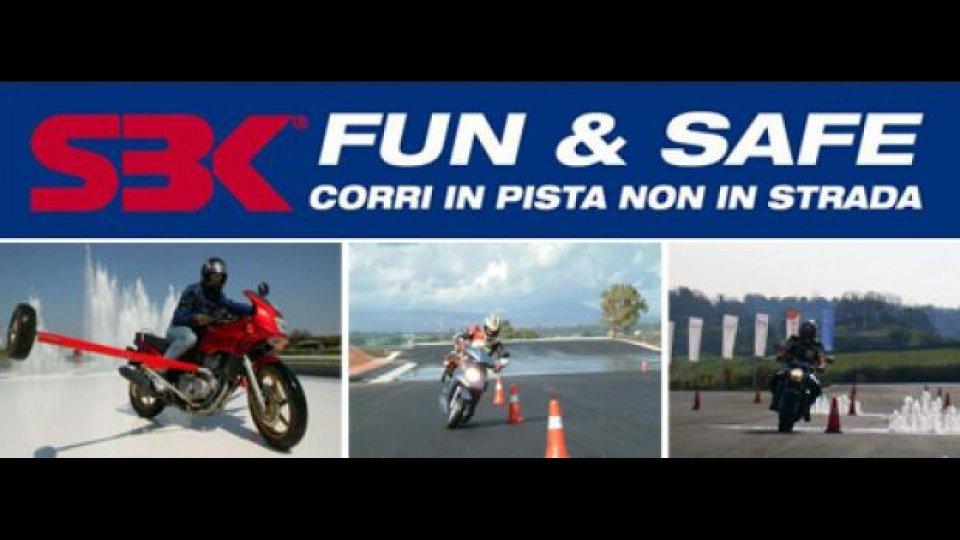 "Moto - News: WSBK 2011: concorso ""SBK FUN & SAFE - Corri in pista, non in strada"""