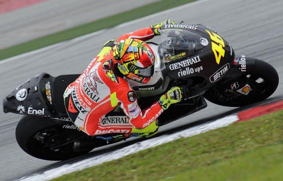 Rossi: questa Ducati mi fa divertire