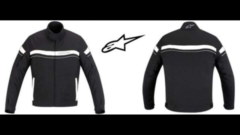 Moto - News: Alpinestars T-Fuel WP Jacket
