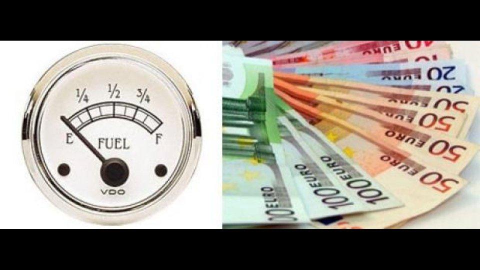 Moto - News: Benzina: 1,738 euro/litro il record 2012