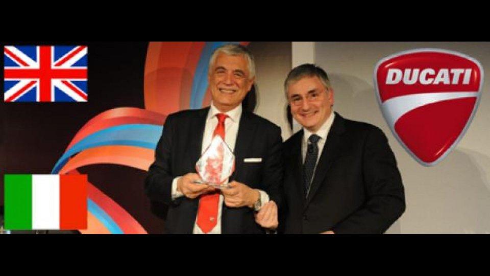 """Moto - News: Ducati vince il """"Brand Recognition Award"""""""