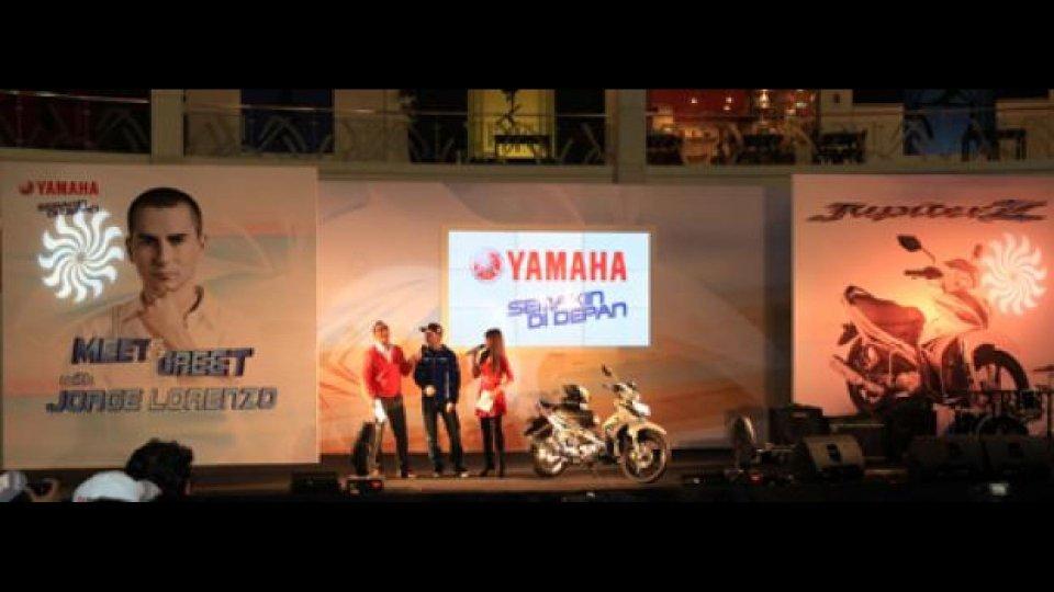 Moto - News: MotoGP 2012: Lorenzo e Spies in Indonesia