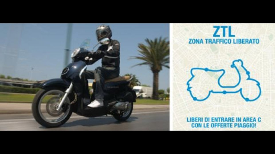 Moto - News: Piaggio: operazione Z.T.L. - Zona Traffico Liberato