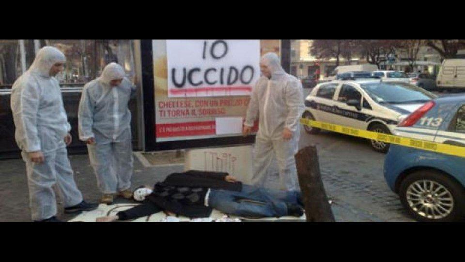 Moto - News: Roma: protesta contro i cartelloni killer