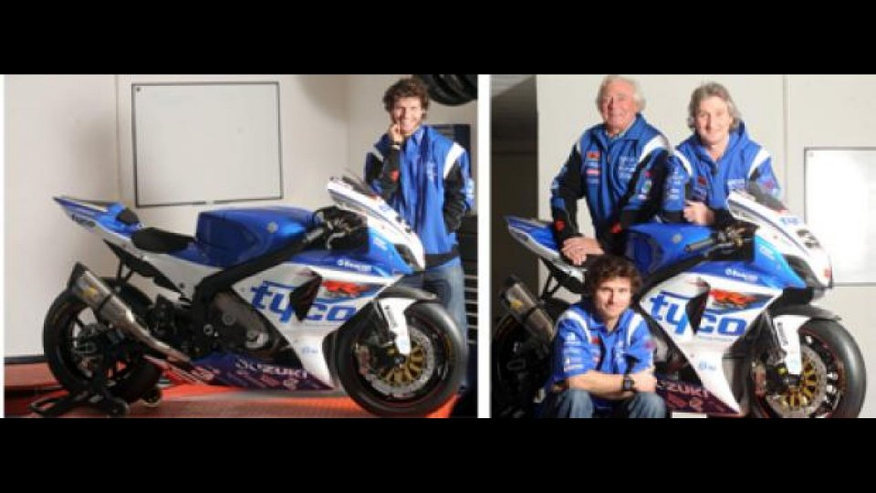 Moto - News: Tourist Trophy 2012: Tyco Suzuki conferma Guy Martin