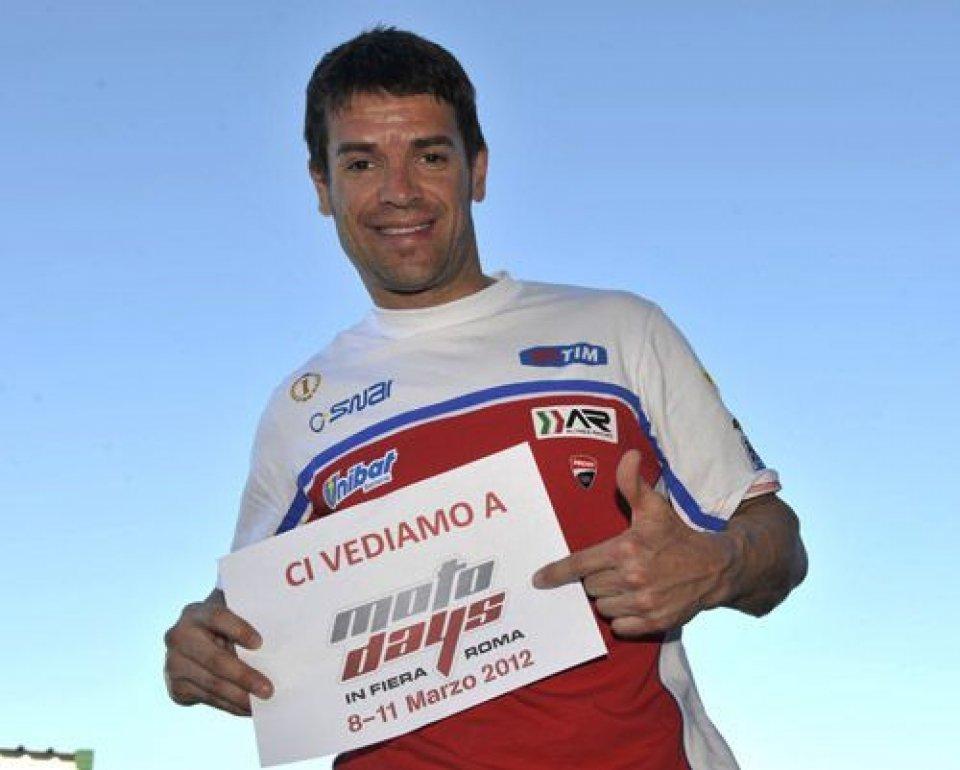 Moto - News: Carlos Checa a MotoDays l'8 marzo