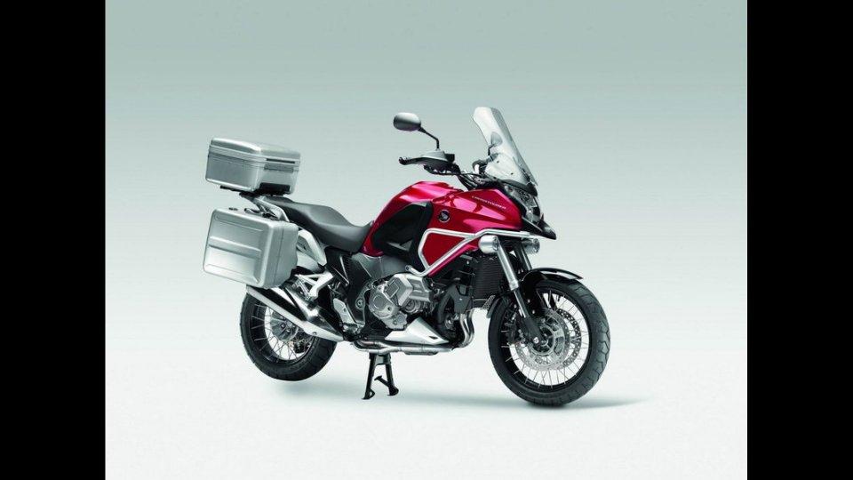 Moto - Gallery: Honda Crosstourer 2012: gli accessori